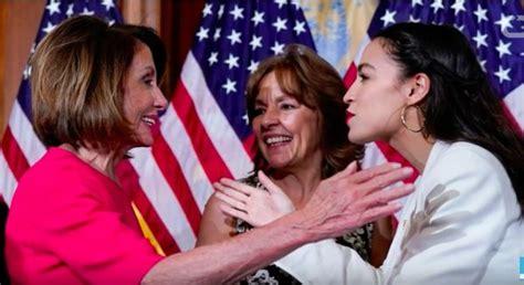 congresswomen dancing yelling  cussing