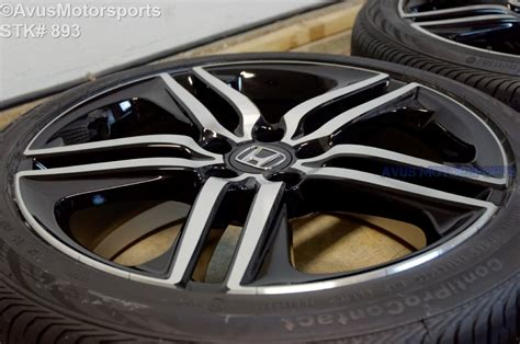 2016 honda accord touring oem 19 quot factory wheels tires