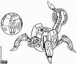 Bakugan Coloring Pages Fencer Printable Sphere Mechanical Games Trap Oncoloring sketch template