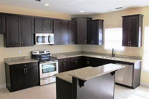 espresso kitchen cabinets in 12 sleek and cool designs With kitchen cabinet trends 2018 combined with main street wall stickers