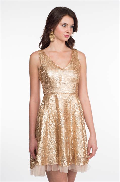 Gold Sequin Dress | Dressed Up Girl