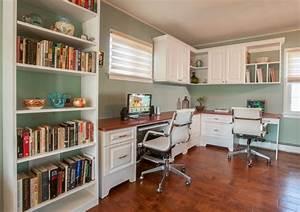 Double, Desk, Home, Office