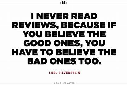 Silverstein Shel Quotes Motivational Bad Because Too