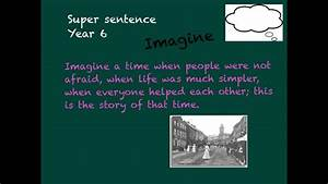 Super Sentences  -  U0026 39 Imagine Sentence U0026 39   Year 6