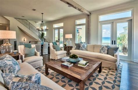 14 Great Themed Living Room Ideas by 21 Coastal Themed Living Room Designs Decorating Ideas