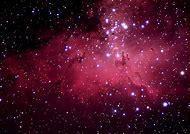 Nebula Galaxy Stars