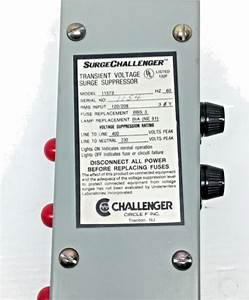 Circle F 11573 Transient Voltage Surge Protector 120  208v