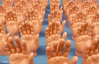Hands Hand Five Raise Infinite Finger Endless