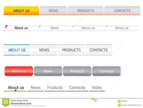 navigation bar templates navigation bar templates stock image image 9207861