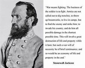 17 Best Stonewa... Stonewall Jackson Brainy Quotes