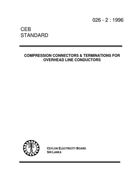 026-2_1996_compression Connectors and Terminations for
