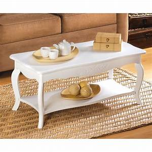 White coffee table wholesale at koehler home decor for Small cottage coffee table