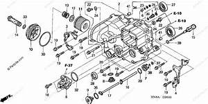 Honda Atv 2008 Oem Parts Diagram For Front Crankcase Cover