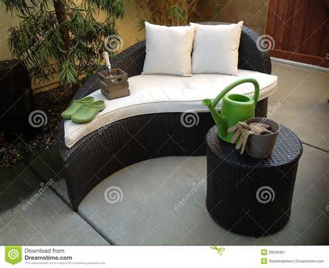 Unique Patio Furniture Stock Image. Image Of Shoes