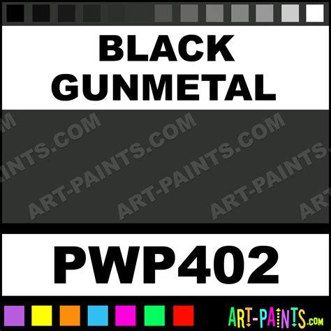 black gunmetal metal paints and metallic paints