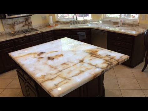 translucent quartz countertops 1000 ideas about onyx countertops on granite