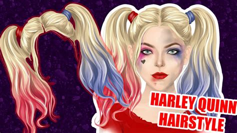 stardoll graphic harley quinn hairstyle youtube