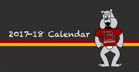 brennen elementary school calendar