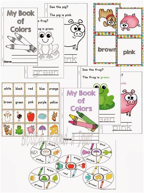 6 Best Images Of Color Recognition Printables  Preschool Color By Number Worksheets