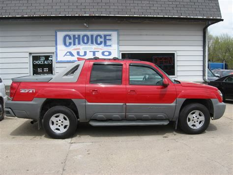 Chevy Avalanche 2002 by 2002 Chevrolet Avalanche Stock 160194 Carroll Ia 51401