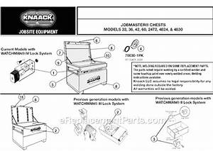 Knaack 4824 Parts List And Diagram   Ereplacementparts Com