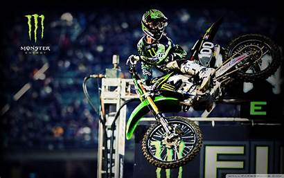 Motocross Wallpapers Monster Energy 4k Screensavers Kawasaki