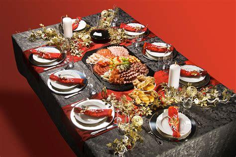 Weihnachtlich Gedeckter Tisch weihnachtlich gedeckter tisch fleischwaren rinner