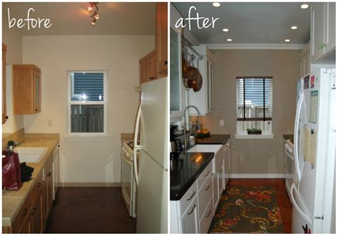 galley kitchen remodel before and after small kitchen remodel before and after for stunning and Small