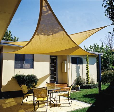 maribelle 3 6m triangle sun sail shade garden patio canopy