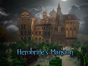 Herobrine's Mansion (Adventure Map) Minecraft Project
