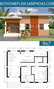 Free, Modern, House, Plans, 2021