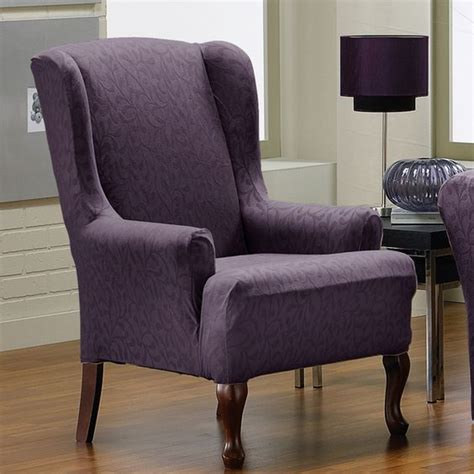 Discount Chair Slipcovers by Fresca 1 Stretch Wing Back Slipcover Chair