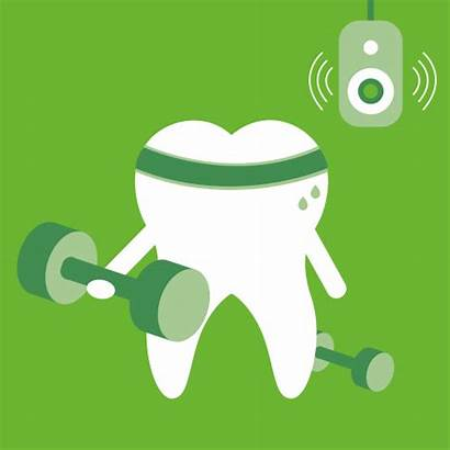 Teeth Stronger Animated Bones Brushing Strong Listerine