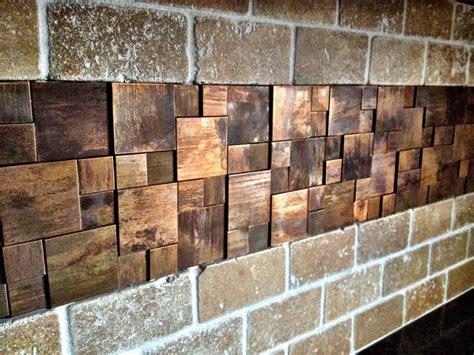 stick on tiles peel and stick backsplash copper siudy net