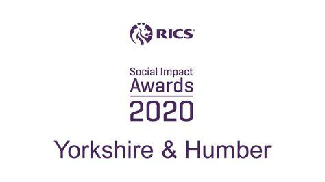 RICS Social Impact Awards 2020, Yorkshire & Humber - YouTube
