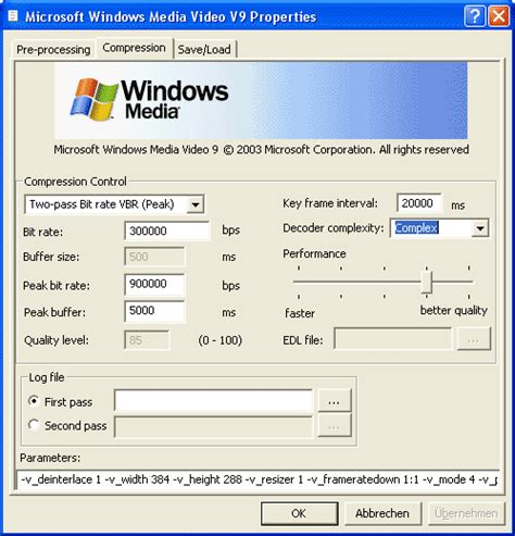 windows media video 9 vcm free download