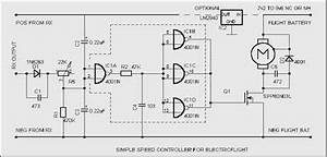 model radio control electronics and history With simple dc motor speed controller using quad nor gate