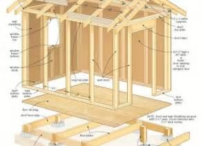 Free 10x12 Shed Material List by Construction Atelier Bois Atelier Passion Du Bois