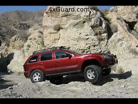 jeep grand cherokee wk rock sliders youtube