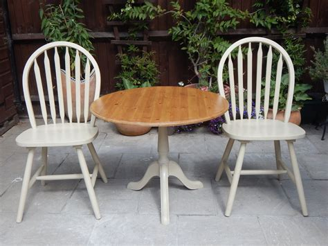shabby chic bistro set lovely shabby chic bistro table 2 chairs sold moonstripe
