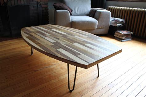 table basse bois recycle table basse en bois recycl 233 meubles sur mesure