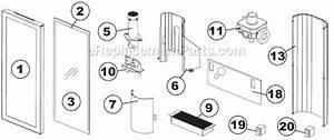 Napoleon Gvft8p Parts List And Diagram   Ereplacementparts Com