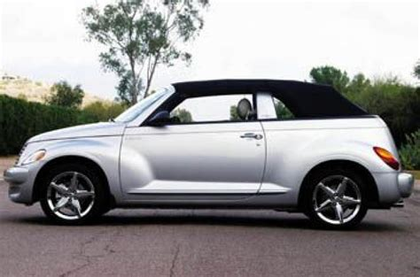 chrysler pt cruiser convertible gt review autocar