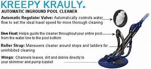 Pentair Automatic Pool Cleaners Kreepy Krauly Kadet E