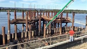 Grant Street Pier Construction - YouTube