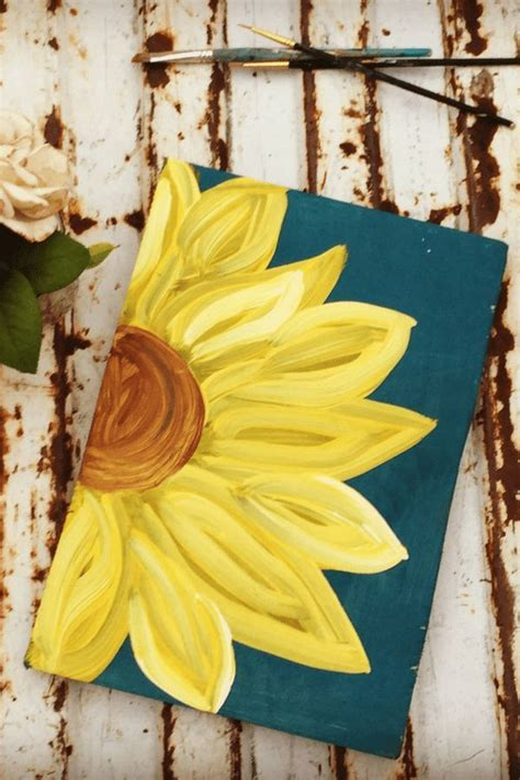rustic sunflower wood sign  images flower art
