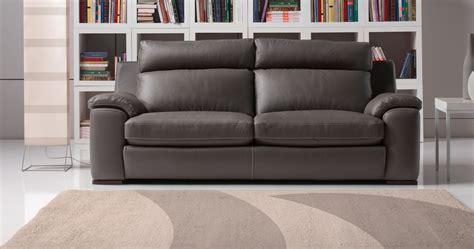 canapé cuir de buffle 3 places salons moderne cuir confortable haut dossier sur univers
