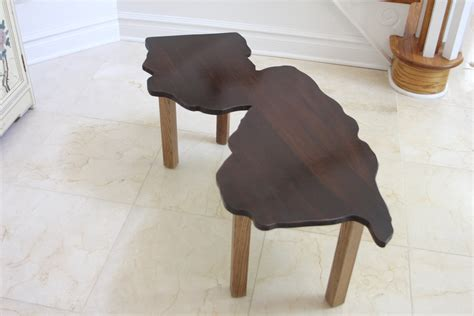 New Jersey Shaped Minimal Coffee Table