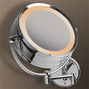 Lampe Für Badezimmerspiegel : design bad spiegel kosmetikspiegel im chrom look f rs badezimmer wandspiegel ~ Orissabook.com Haus und Dekorationen