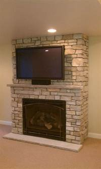 brick fireplace remodel Fireplace Remodel On Pinterest Brick Fireplaces Painted ...